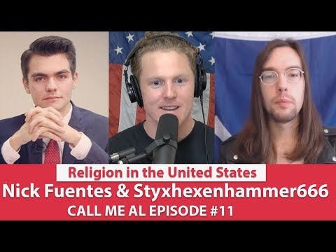 Styx vs Nick | Live Debate: Religion in the U.S. | CALL ME AL | EPISODE 11