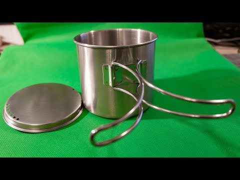 Stainless Steel Water Cup from AliExpress
