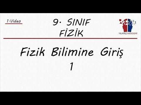 9. SINIF FİZİK - FİZİK BİLİMİNE GİRİŞ 1