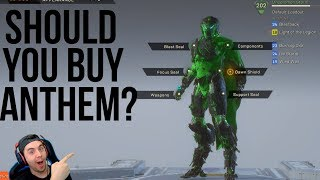 Should You Buy Anthem? My Thoughts and Gear after Day One