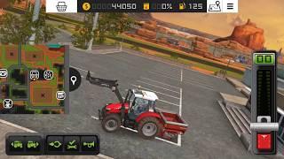 Farming Simulator 2018 gameplay(samsung galaxy s7) ep2. perkam tehniku