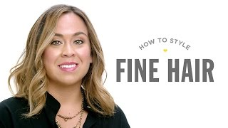 Drybar DIY: How to Blowout Fine Hair