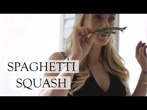 Pomegranate, Goat Cheese Spaghetti Squash | How To Cook Spaghetti Squash