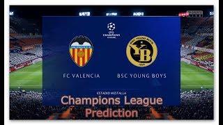 UEFA Champions League 2018 ⚽ Valencia - Young Boys | Predict #UCL