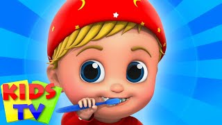 This Is The Way We Brush Our Teeth | Morning Routine Song | Good Habits Song | Kids Tv