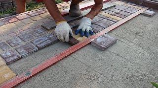 Укладка тротуарной плитки.(Как самому правильно уложить тротуарную плитку брусчатку. Посмотреть фотографии из данного видео с подроб..., 2014-07-18T08:42:38.000Z)