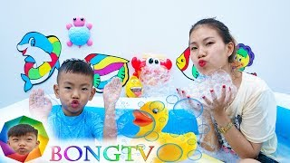 Bath Song Nursery Rhymes song for Kids from Bong TV