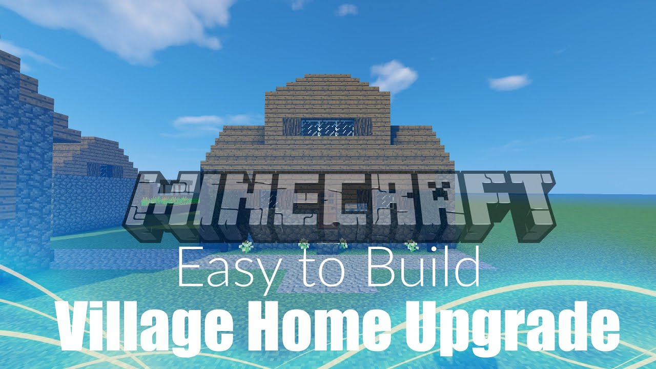 ✦Minecraft:How To Upgrade Your Village Homes!|Easy Build✦ - YouTube