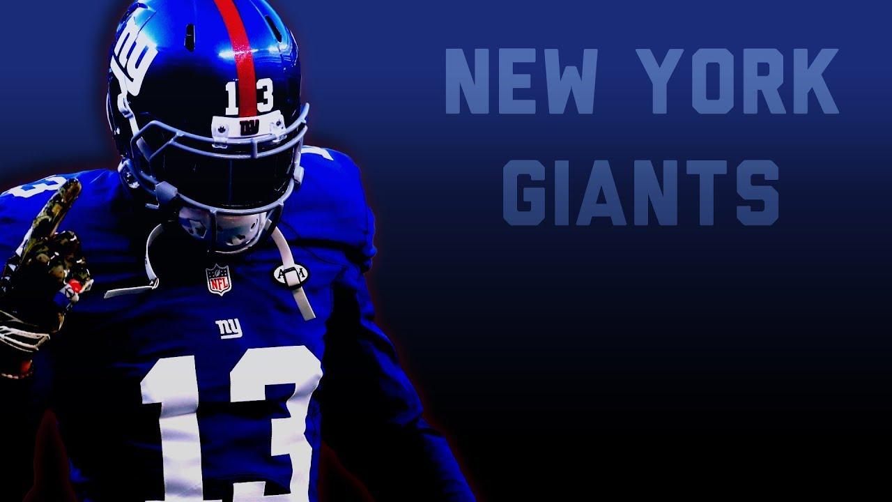 new style e8607 f7a59 New York Giants - 2018 Season Hype