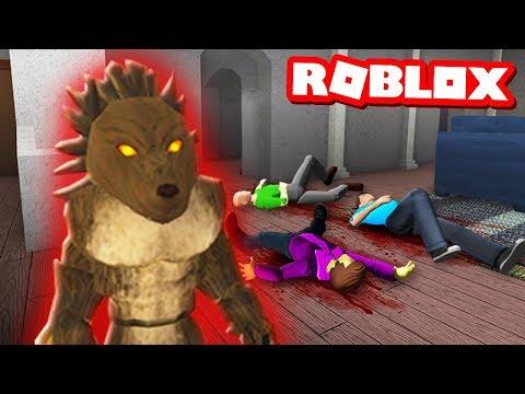 ROBLOX WEREWOLF TRANSFORMATION SIMULATOR! Werewolf Murder Mystery!  (Roblox Awoo)