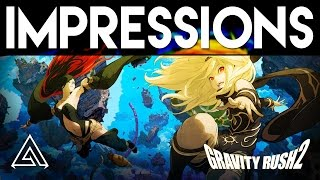 Gravity Rush 2 | PS4 Pro Gameplay & Impressions