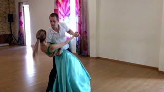 Свадебный танец вальс под All i need! За шесть занятий