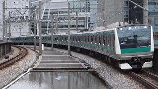 【FHD】JR埼京線 北与野駅にて(At Kita-Yono Station on the JR Saikyo Line)