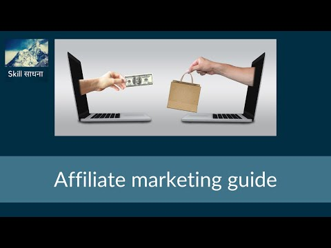 Affiliate marketing guide for beginners |