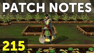 RuneScape Patch Notes #215 - 16th April 2018