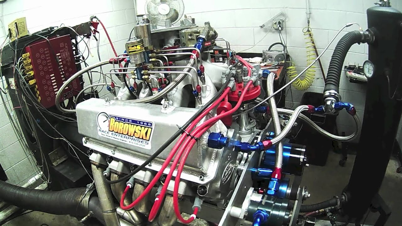 Nitrous Small Block Ford - 8,700 RPM