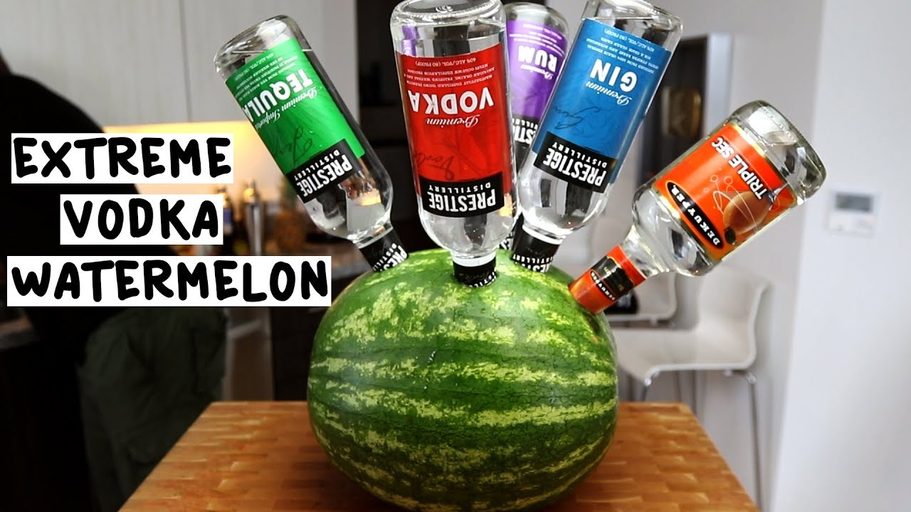 Image result for vodka spiked watermelon