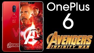 OnePlus 6 - Avengers: Infinity War Edition!