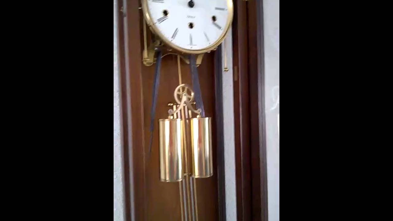 German kieninger wall clock youtube german kieninger wall clock amipublicfo Images