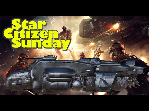 Star Citizen Sunday - Military Starfarer & Interior, Star Marine News & Repair Info + Loads More