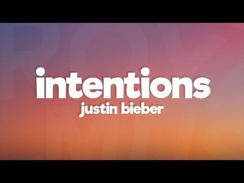Justin Bieber - Intentions (Lyrics)