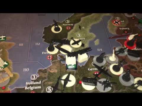 Game 10 - Chris & Brian - Axis & Allies Global 1940