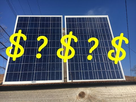 Buying Solar panels to save $$$$