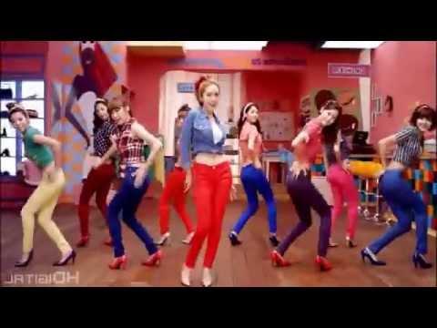 SNSD - Gee [Japanese Dance Version] Sub Español MV/PV
