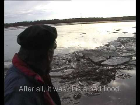 Spring Flood, Observer of the ice departure (English subtitles)