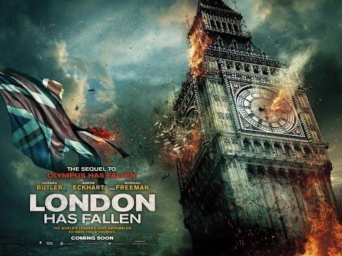 Падение Лондона | Русский трейлер 2015