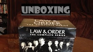 Law & Order Complete Series-Unboxing