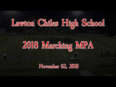 2018 Marching Band MPA - Lawton Chiles High School