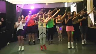 The Pussycat Dolls - Jai Ho choreography Zumba Fitness