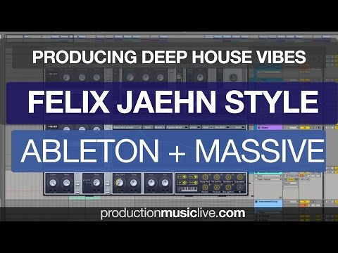 Felix Jaehn Tutorial Ableton & Massive Remake - Ed Sheeran Photograph Felix Jaehn Style Remix