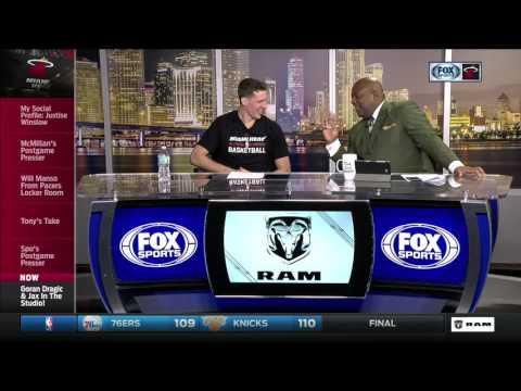 Goran Dragic -- Miami Heat vs. Indiana Pacers 02/25/2017