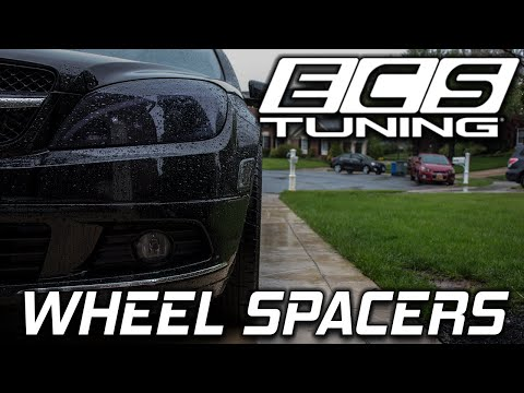 ecs-tuning-wheel-spacer-install-on-mercedes-c300