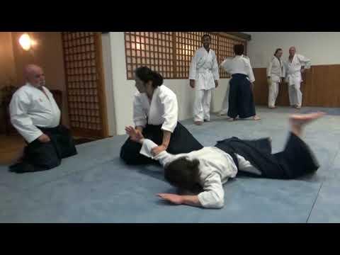 Okamoto Yoko Shihan, Au Dojo René VDB 24-01-19 1er Cours