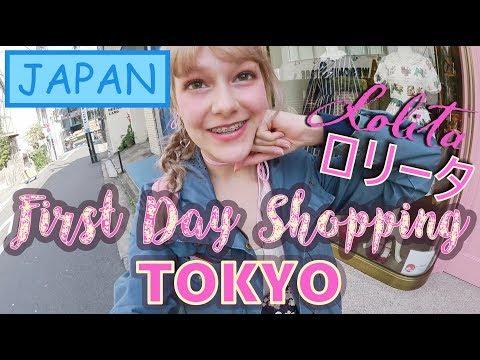 Japan Vlog #1: Flying To TOKYO & LOLITA Shopping In HARAJUKU   Honey In JAPAN    Spring 2018