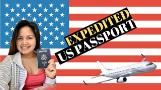 How fast is the US passport expedite service?  l  USPS acceptance office.