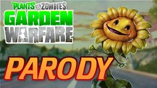 "Plants vs Zombies Garden Warfare Parody Song ""Never Alone"" The Wanted Chasing The Sun"