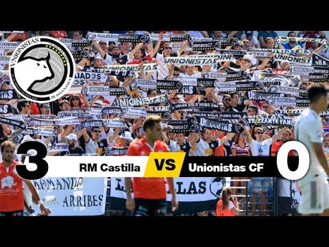 RM Castilla 3-0 Unionistas CF (Jornada 4) 2018/19