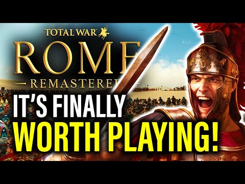 IMPERIUM SURRECTUM: THE ROME REMASTERED MOD WE'VE BEEN WAITING FOR!
