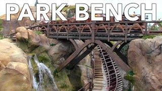 Disney Park Bench - New Fantasyland - Seven Dwarfs Mine Train
