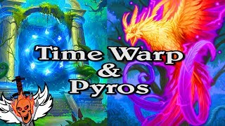 Time Warp & Pyros 🍀🎲 ~ Journey to Un'Goro ~ Hearthstone Heroes of Warcraft