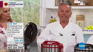 Wolfgang Puck 10Cup Electric Rice Cooker and Steamer