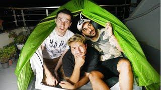 Çadırda 3 Youtuber İle Bir Gece Geçirmek ! ⛺