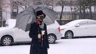 [4K직캠] 샤이니(SHINee) 태민, 출근길 분위기 만들어주는 날씨(190215)