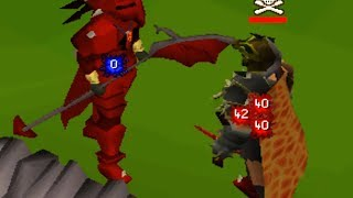 PKing with NEW Full Dragon at 109cb