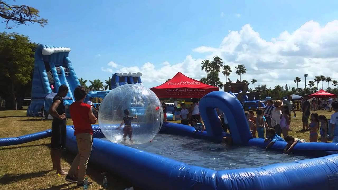 Water Slide Rentals In Miami For Summer Camps Birthday Parties Corporate Events