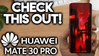 HUAWEI MATE 30 PRO - This Is Incredible!